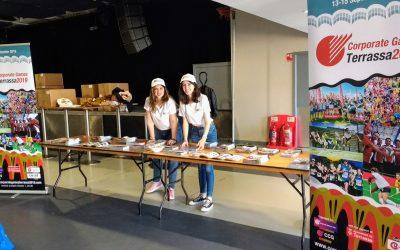 Una delegación de Terrassa promociona los Corporate Games 2019 en los Juegos británicos