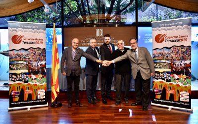 Signat l'acord marc de col·laboració per a la promoció dels Corporate Games Terrassa 2019