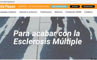 "ELS CORPORATE GAMES TERRASSA 2019 I GAEM COL·LABORARAN EN LA CAMPANYA ""YODOYMISPASOS"""
