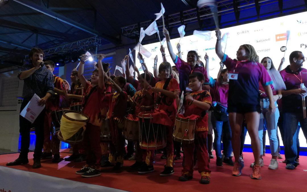 Accent Social gana el concurso del desfile inaugural de los Corporate Games Terrassa 2019