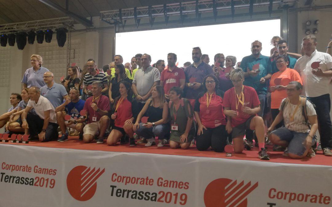 Los Corporate Games Terrassa 2019 cierran con la entrega de premios