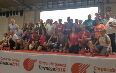 (Español) Los Corporate Games Terrassa 2019 cierran con la entrega de premios