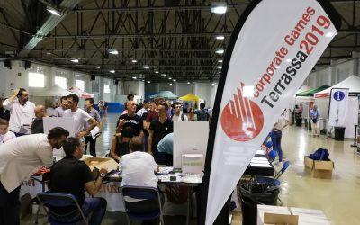 Abre puertas el Supercenter de los Corporate Games Terrassa 2019