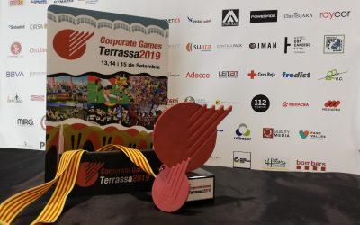 Deporman dissenya els trofeus i medalles dels Corporate Games Terrassa 2019
