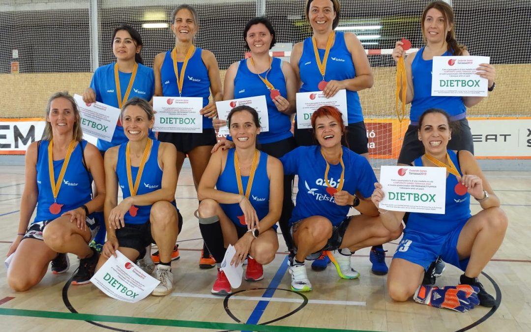 Telstar gana el campeonato de fútbol sala de los Corporate Games Terrassa 2019